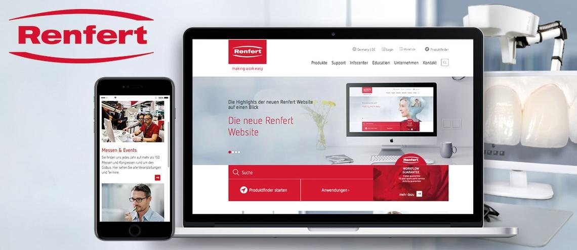 Website Relaunch Renfert